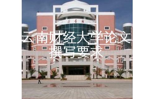 大奖游戏888财经大学论文撰写要求